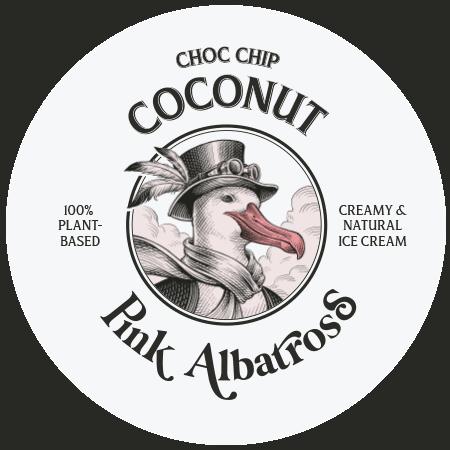 Sabor Choc Chip Coconut · Pink Albatross - Tapa