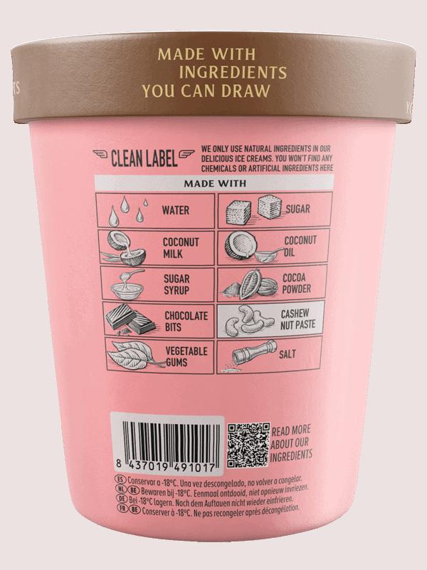 Double Chocolate Chip Flavor · Pink Albatross - Ingredients
