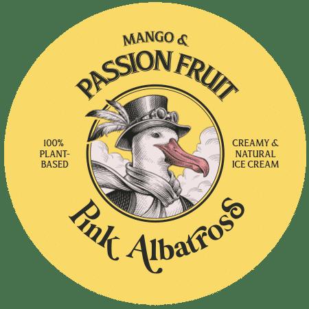 Sabor Mango & Passion Fruit · Pink Albatross - Tapa