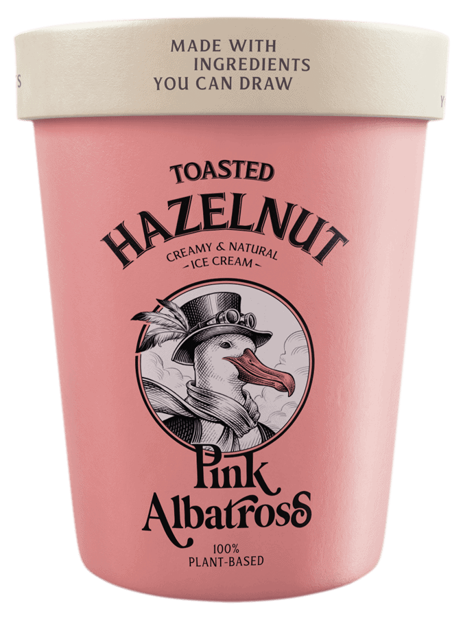 Sabor Toasted Hazelnut · Pink Albatross - Tarrina