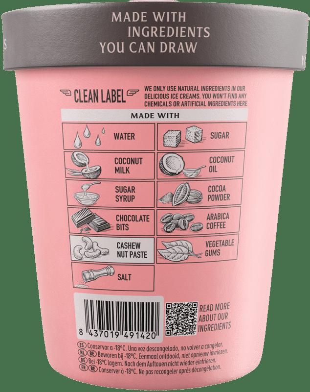 Arabica Coffee & Chocolate Flavour · Pink Albatross - Ingredients
