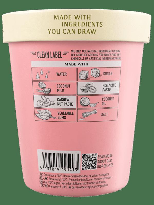 Perfect Roast Pistachio Flavor · Pink Albatross - Ingredients