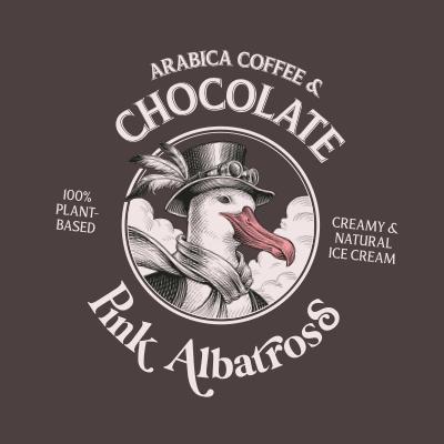Sabor Arabica Coffee & Chocolate · Pink Albatross - Tapa