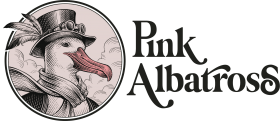 Logotipo Pink Albatross